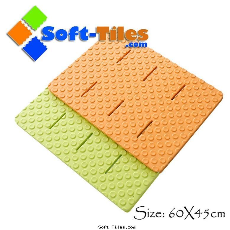 EVA anti slip bath rugs non-toxic,anti-slip design