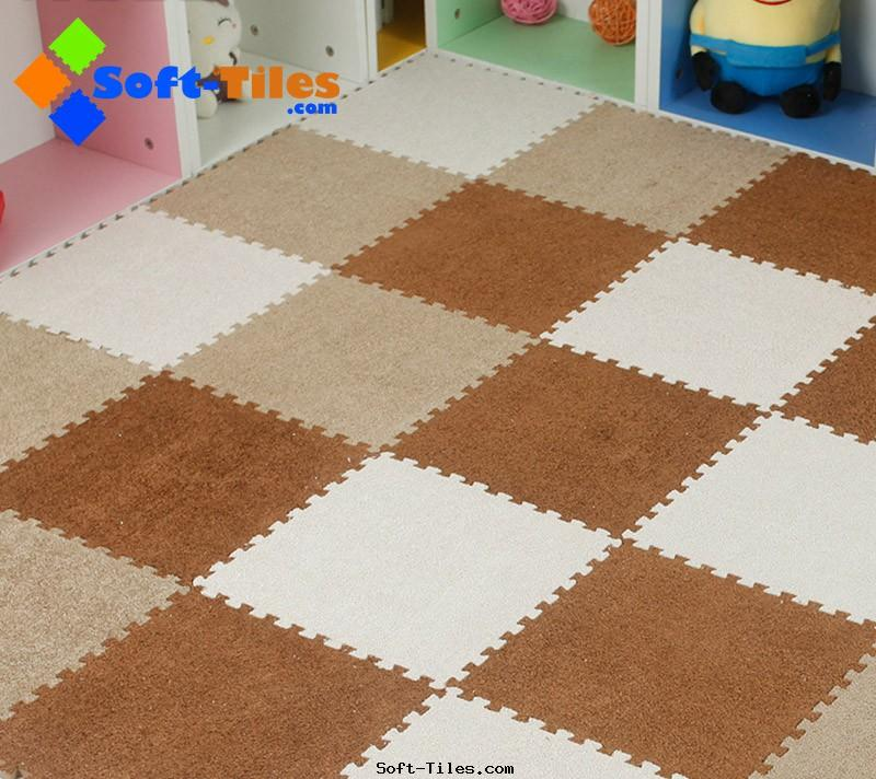 Luxurious Carpet Tiles short hair
