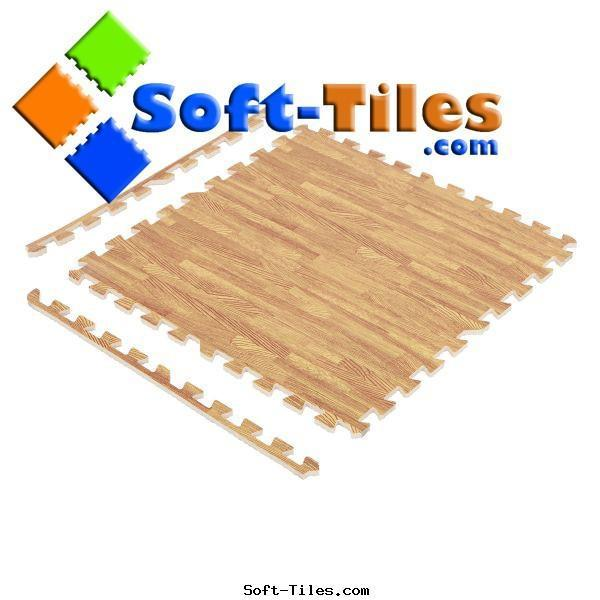 Wood Effecting Foam Floor 6pcs/set