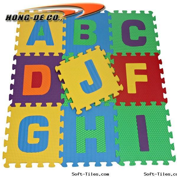 Alphabet Puzzle Mat, ABC Foam mat