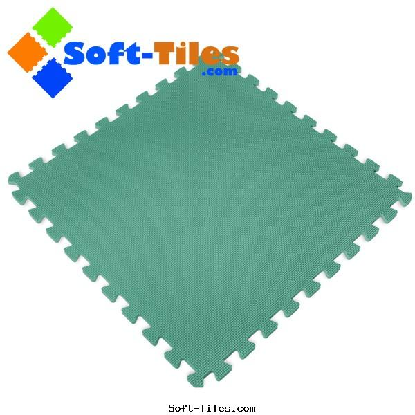 Green Foam Mat used kids playground