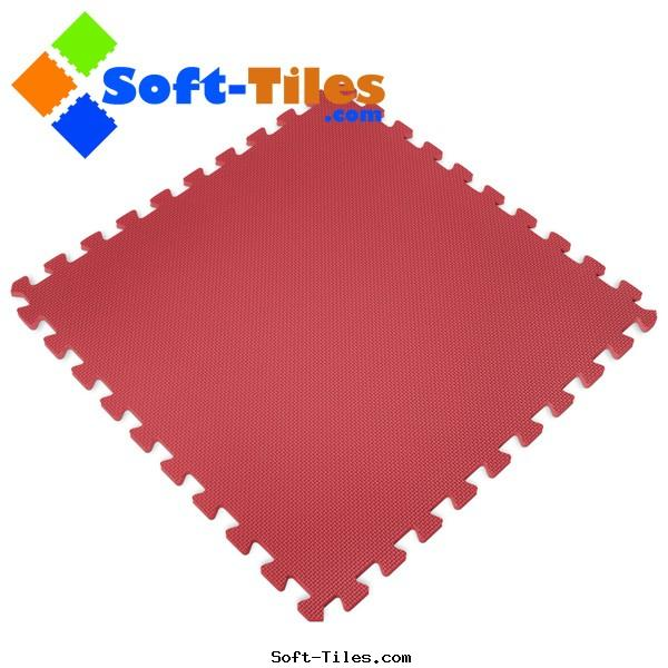 Red Foam Mat used kids playground