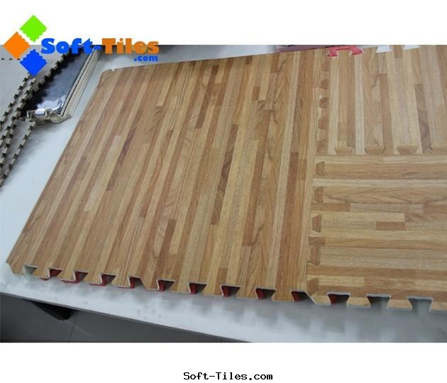 Wood Foam Floor Mat