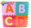 Non-toxic Alphabet Puzzle Mat with Alphabet ABC