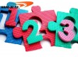 Numbers mat for children playing and learn numbers
